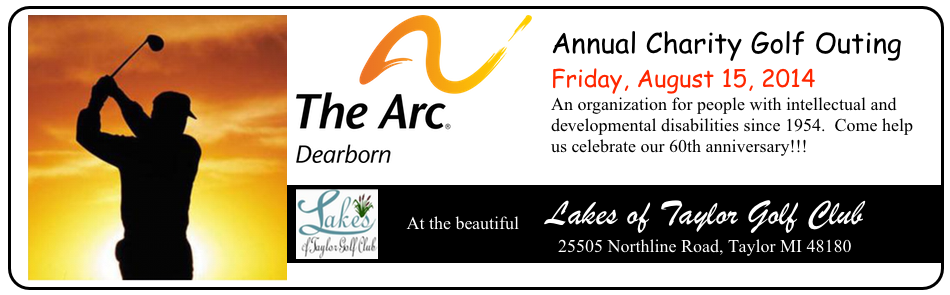 Arc Dearborn Golf Outing 2014